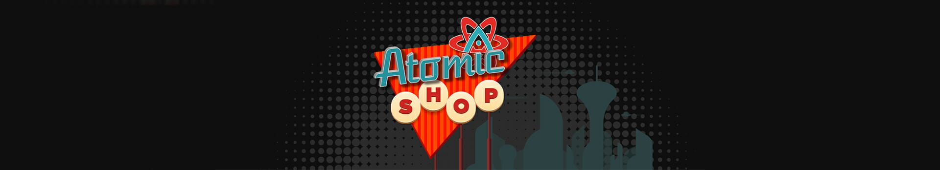 atomic shop banner