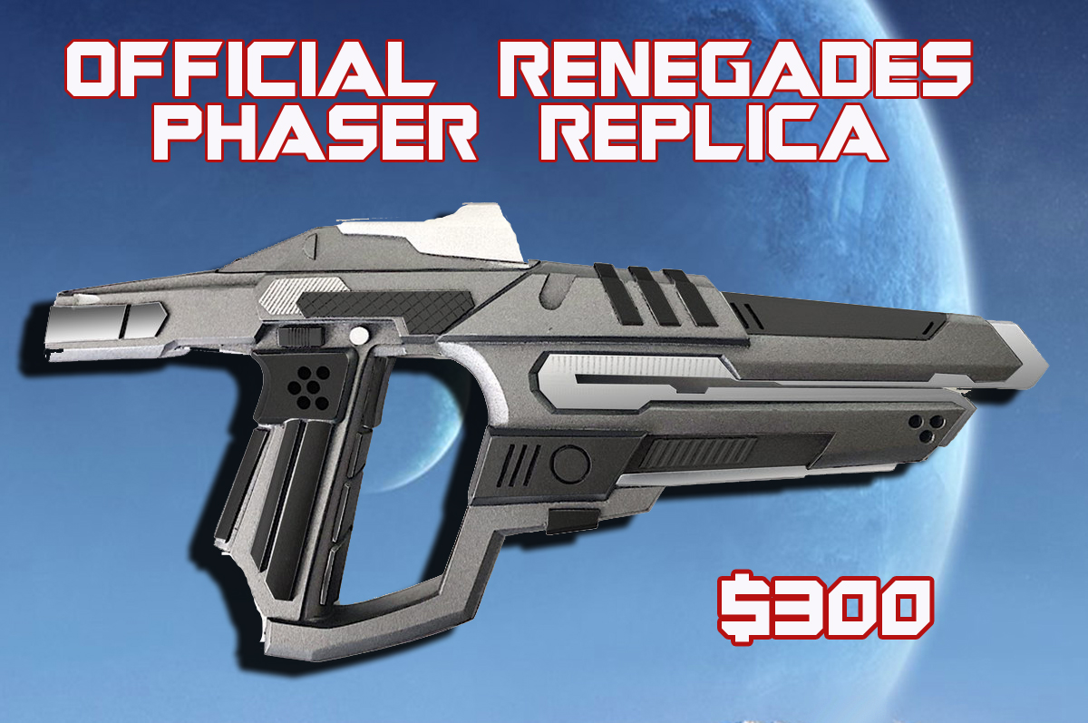 Renegades Phaser Gift Creative
